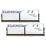 G.Skill Trident Z Royal 16 Go (2 x 8 Go) DDR4 4000 MHz CL17 - Argent