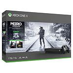 Microsoft Xbox One X (1 To) + Metro Exodus Saga