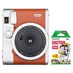 Fujifilm instax mini 90 Neo Classic Marron + instax mini Bipack