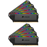 Corsair Dominator Platinum RGB 128 Go (8x 16Go) DDR4 3600 MHz CL18