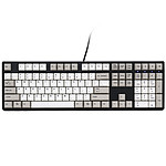 Ducky Channel One (coloris gris - Cherry MX Black)