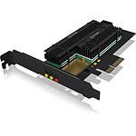 ICY BOX IB-PCI215M2-HSL