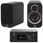 Denon CEOL N10 Noir - Sans HP + Q Acoustics 3010i Noir