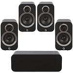 Q Acoustics 3090Ci + 3010i + 3020i Noir