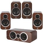 Q Acoustics 3090Ci + 3010i + 3020i Noyer