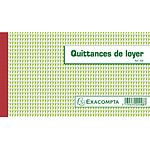 Exacompta Manifold Quittances de Loyer 12.5 x 21 cm