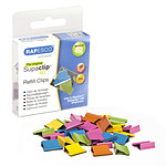 Rapesco Repuestos 50 Clips Multicolor Supaclip 40