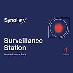 Synology Pack 4 licencias para camaras supplémentaires