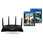 Netgear Nighthawk Pro Gaming XR700 + The Division 2 (PS4) + Dirt Rally 2.0 (PS4)