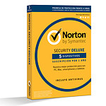 Norton Security Deluxe - 1 año 5 licencias