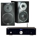 Advance Acoustic X-i50BT + Cabasse Surf Noir