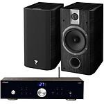 Advance Acoustic X-i50BT + Focal Chorus 605 Black Style