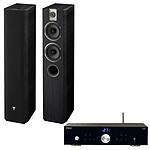 Advance Acoustic X-i50BT + Focal Chorus 615 Black Style