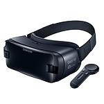 Samsung Gear VR R325N Noir + Connecteur spécifique Galaxy S10