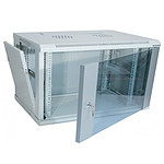 Dexlan coffret réseau - fixe - largeur 19'' - hauteur 12U - profondeur 45 cm - charge utile 60 kg - coloris gris