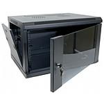 Dexlan coffret réseau - fixe - largeur 19'' - hauteur 15U - profondeur 45 cm - charge utile 60 kg - coloris noir