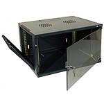 Dexlan coffret réseau - fixe - largeur 19'' - hauteur 20U - profondeur 45 cm - charge utile 35 kg - coloris noir