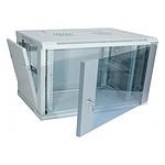 Dexlan coffret réseau - fixe - largeur 19'' - hauteur 15U - profondeur 45 cm - charge utile 60 kg - coloris gris