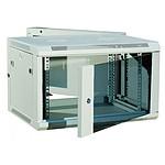 Dexlan coffret réseau - pivotant - largeur 19'' - hauteur 12U - profondeur 55 cm - charge utile 60 kg - coloris gris