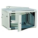 Dexlan coffret réseau - pivotant - largeur 19'' - hauteur 9U - profondeur 55 cm - charge utile 60 kg - coloris gris