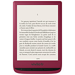 Vivlio Touch Lux 4 Rouge + Pack d'eBooks OFFERT