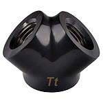 Thermaltake Pacific Adaptateur Y  G1/4 - Noir