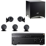 Sony STR-DN1080 + Cabasse Alcyone 2 Pack 5.1 Noir