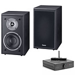 Elipson MC Mini + Magnat Monitor Supreme 102 Noir