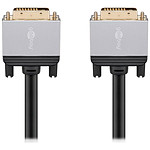 Goobay Plus Câble DVI-D 4K (5 m)