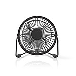 Nedis Mini-Fan (Noir)