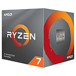 AMD Ryzen 7 3700X Wraith Prism LED RGB (3.6 GHz / 4.4 GHz) avec mise à jour BIOS