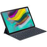 Teclado Book Cover Samsung EJ-FT720BBEG Negro (para Galaxy Tab S5e)