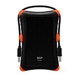 Silicon Power boîtier pour disque dur externe renforcé avec câble USB 3.0 (noir / orange)