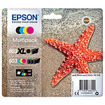 Epson Etoile de mer 603XL Noir / 603 CMJ