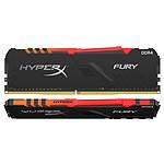 HyperX Fury RGB 16 Go (2x 8 Go) DDR4 3600 MHz CL17