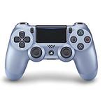 Sony DualShock 4 v2 (bleu titane)
