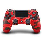 Sony DualShock 4 v2 (camouflage rouge)