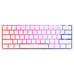 Ducky Channel One 2 Mini White Cherry MX Red