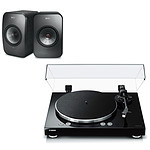 Yamaha MusicCast VINYL 500 Noir + KEF LSX Wireless Noir