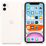 Apple Coque en silicone Blanc Apple iPhone 11