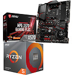 Kit Upgrade de PC AMD Ryzen 5 3600 MSI MPG X570 GAMING PLUS
