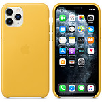 Apple Funda de piel Lemon Meyer Apple iPhone 11 Pro