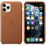 Apple Coque en cuir Havane Apple iPhone 11 Pro