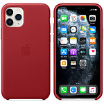 Apple Funda de piel (PRODUCT)RED Apple iPhone 11 Pro