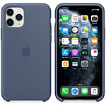 Apple Coque en silicone Bleu d'Alaska Apple iPhone 11 Pro