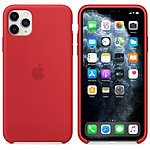 Apple Coque en silicone (PRODUCT)RED Apple iPhone 11 Pro Max
