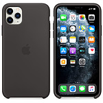 Apple Funda de silicona negra Apple iPhone 11 Pro Max