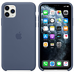 Apple Coque en silicone Bleu d'Alaska Apple iPhone 11 Pro Max