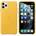 Apple Funda de piel Lemon Meyer Apple iPhone 11 Pro Max