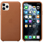Apple Coque en cuir Havane Apple iPhone 11 Pro Max